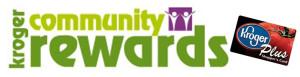 Kroger Community Awards logo with Kroger Plus card image