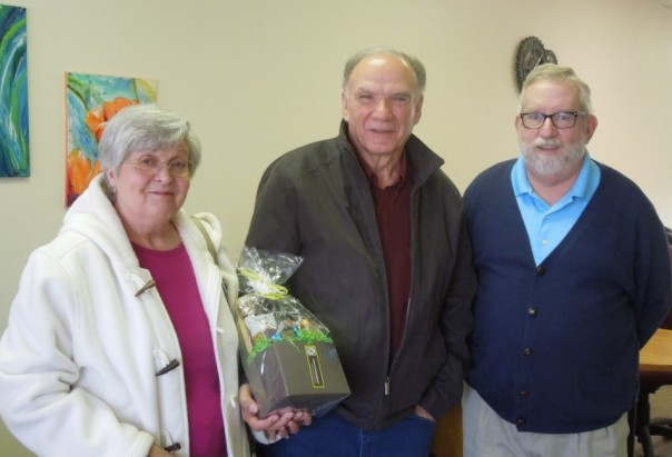 Hearts and Hammers awarded a gift basket for their assistance in Pulaski, Virginia area to New River Valley Disability Resource Center consumers